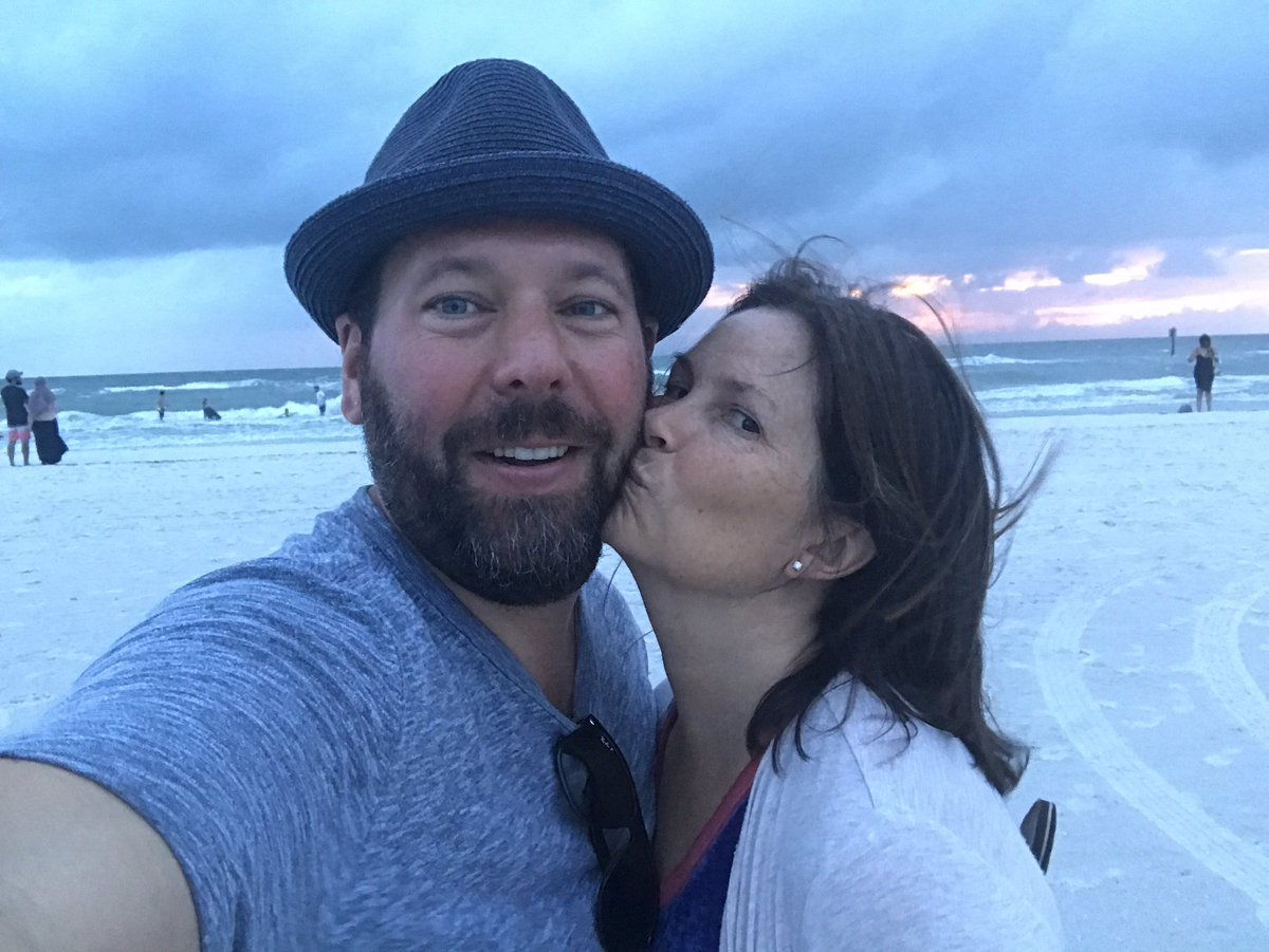 Bert Kreischer with beautiful, Wife LeAnn Kreischer