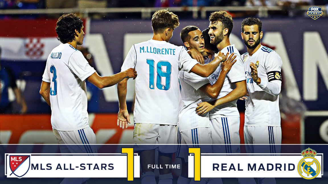 MLS-All-Stars 1-1 Real Madrid Highlights