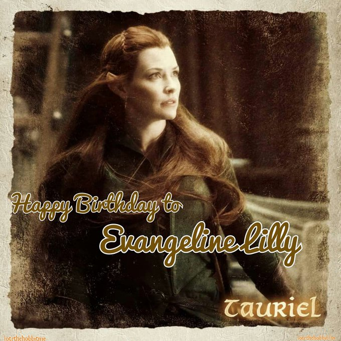 Happy birthday to our beautiful Evangeline Lilly !!!
