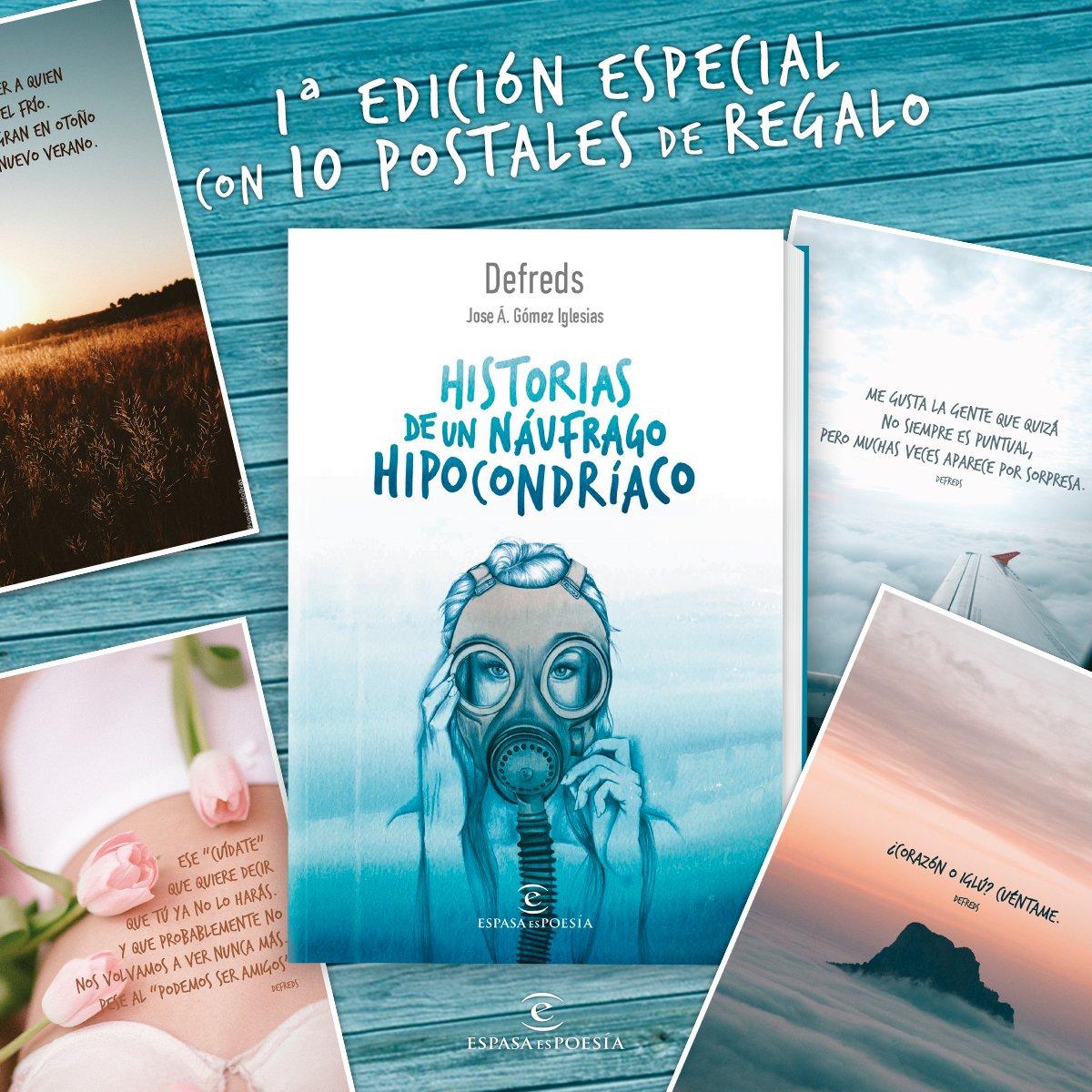"""Defreds on Twitter: """"En la primera edición de """"Historias de un naúfrago  hipocondríaco"""" vendrán unas increíbles postales de @soydavidolivas y  @CynthiaPeriUp… ..."""
