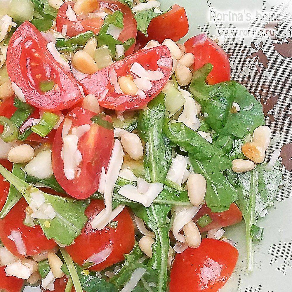 Рецепты салатов цезарь с курицей и сухариками