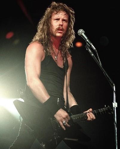 Happy birthday James Hetfield!