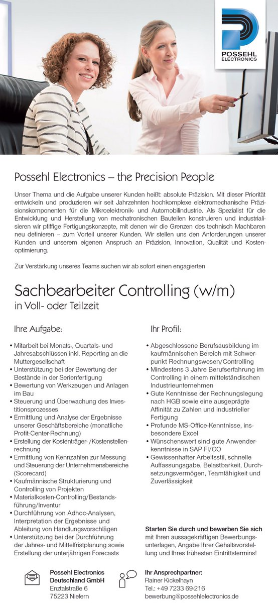 possehl electronics niefern