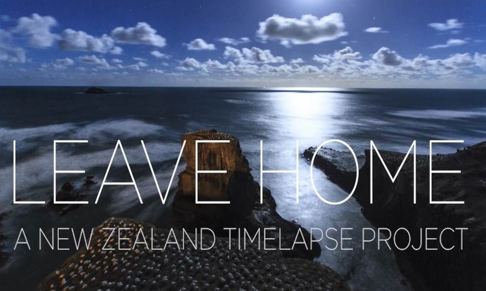 """New Zealand Time Twitter: Time Lapse Network On Twitter: """"VIDEO Leave Home: A New"""