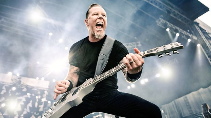 Happy birthday to rock and roller, James Hetfield