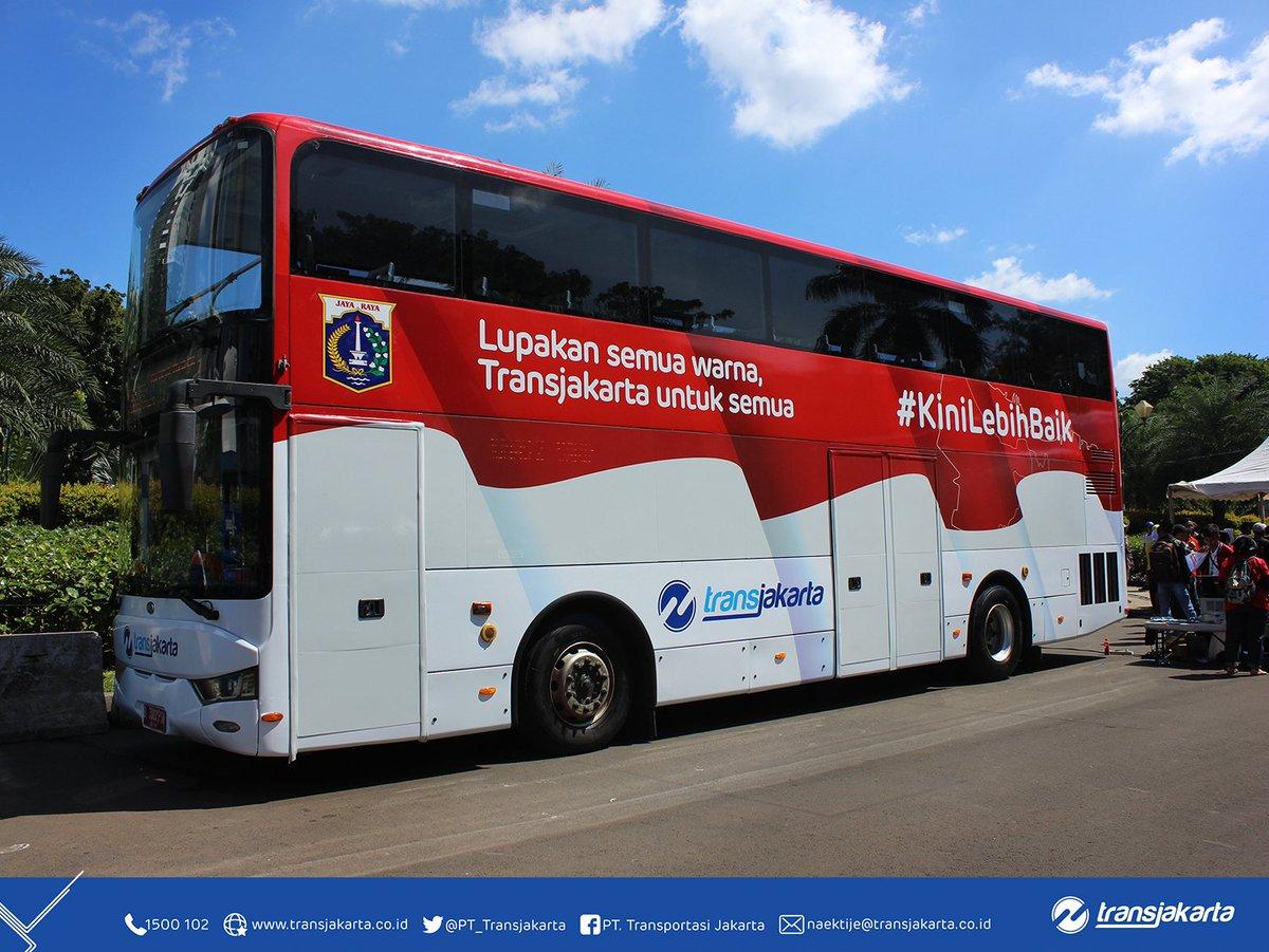 """Transportasi Jakarta ar Twitter: """"Berikut adalah peta rute Bus"""