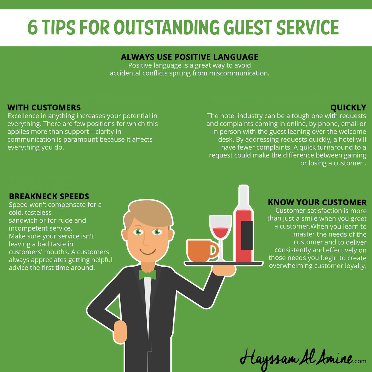 Hayssam On Twitter Giving You A Few Tips On How To Ace Guest