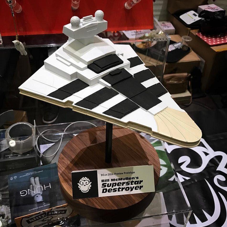 "SuperStar Destroyer 10/"" Vinyl Toy Figure by Bill Billions McMullen x Munky King"