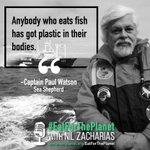 Listen to @CaptPaulWatson discuss the state of our oceans on #EatForThePlanet with @nilzach https://t.co/aygkFKIS0p #Vegan #FutureOfFood