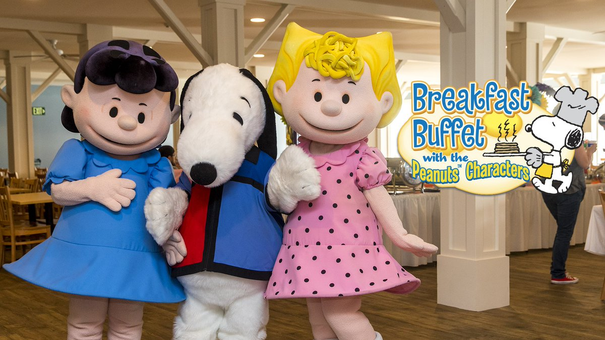 Cedar Point On Twitter Enjoy Breakfast With Snoopy And The