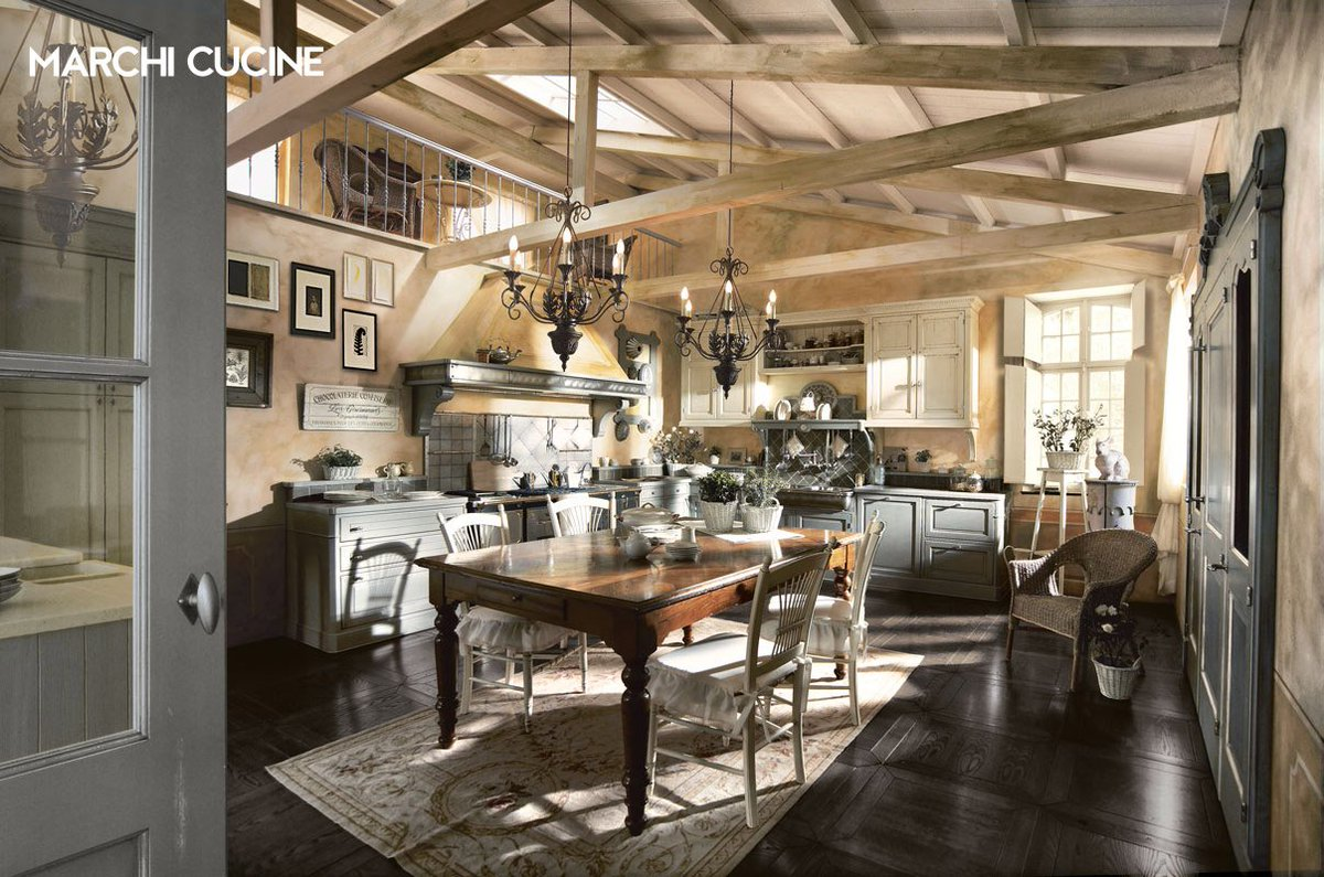 De marchi cucine top country chic kitchen doria by marchi - Marchi cucine moderne ...