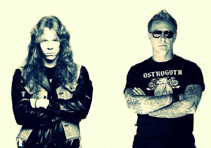 Happy Birthday to James Hetfield. Our biggest influence by far.