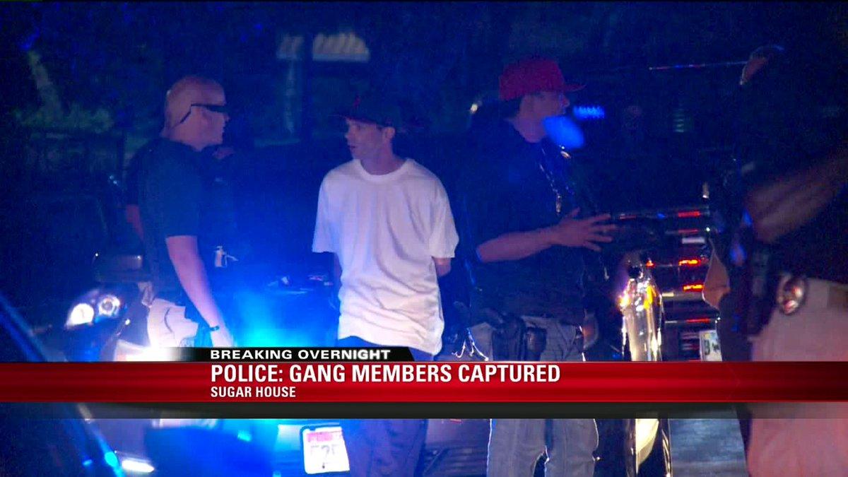 Metro Sugar House : Metro gang unit arrests overnight Sugar