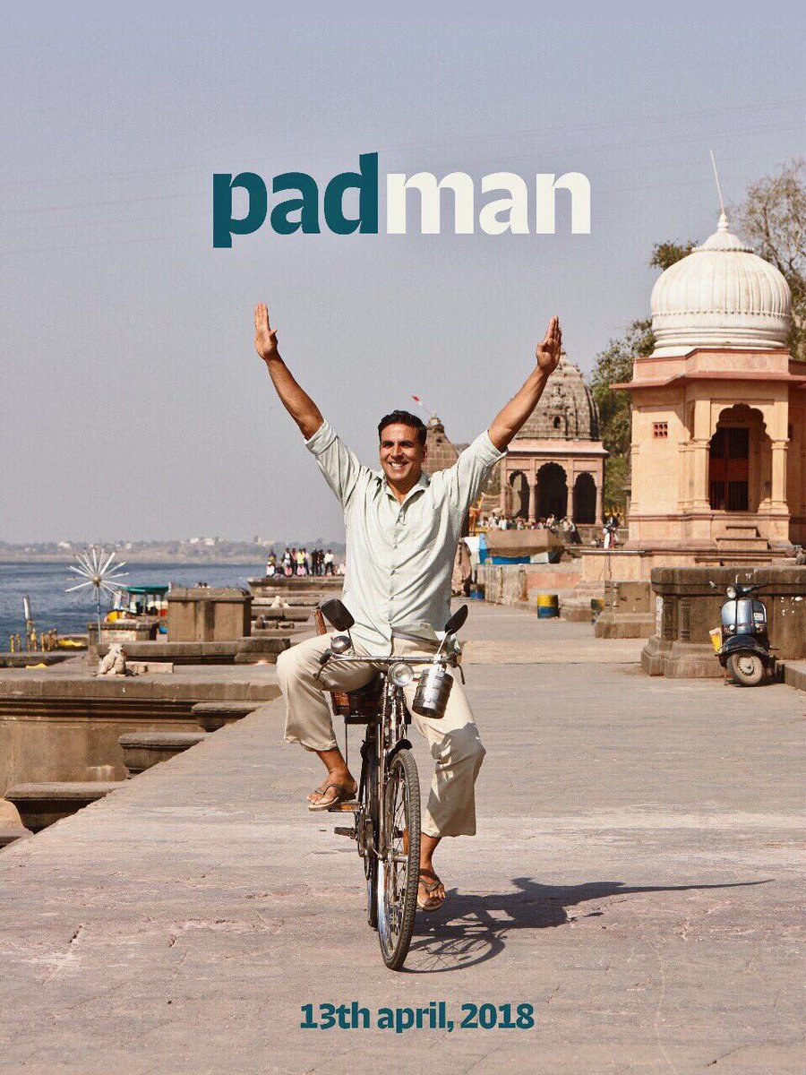 First Look Poster of Padman starring Akshay Kumar
