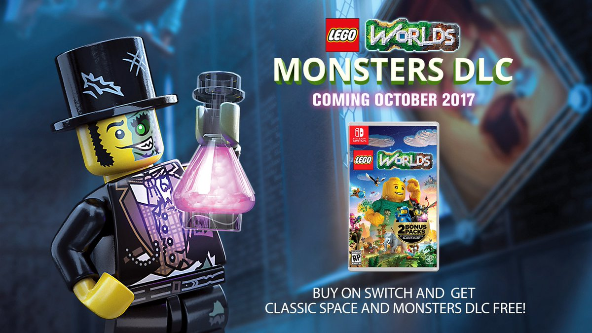 "LEGO Worlds añade el pack DLC ""Monsters"""