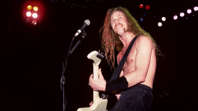 Happy birthday James Hetfield! Look back at our 1989 feature on Metallica