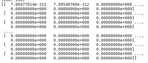Numpy different values marriage