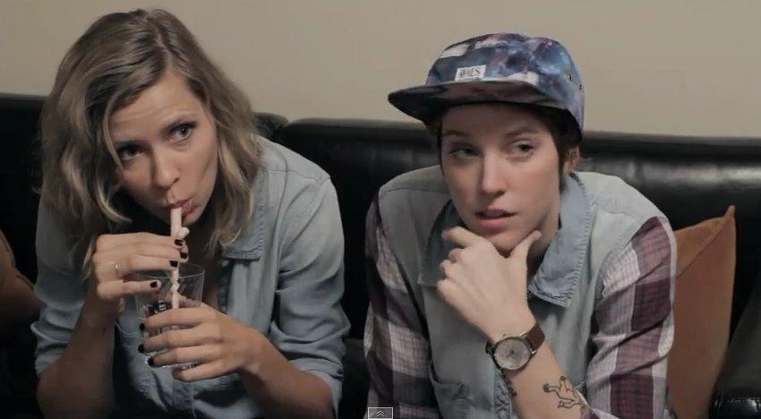 Online lesbian love story