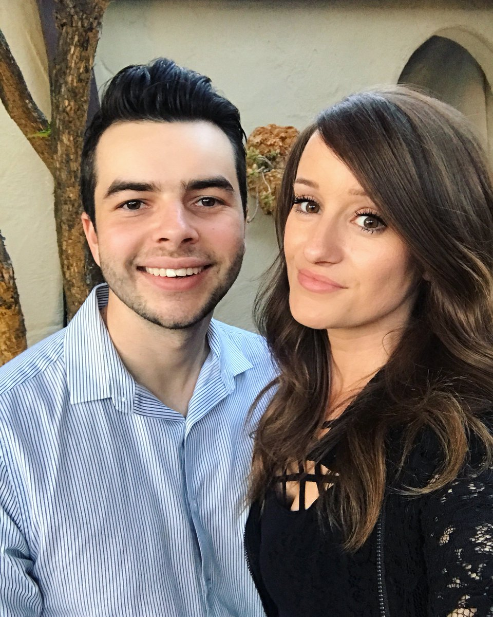 Nadeshot with cute, Girlfriend  Jenna Ezarik