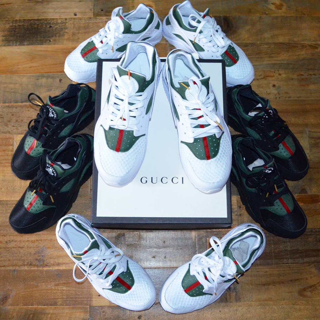 Katherine Caicedo On Twitter Custom Gucci Huaraches Orders