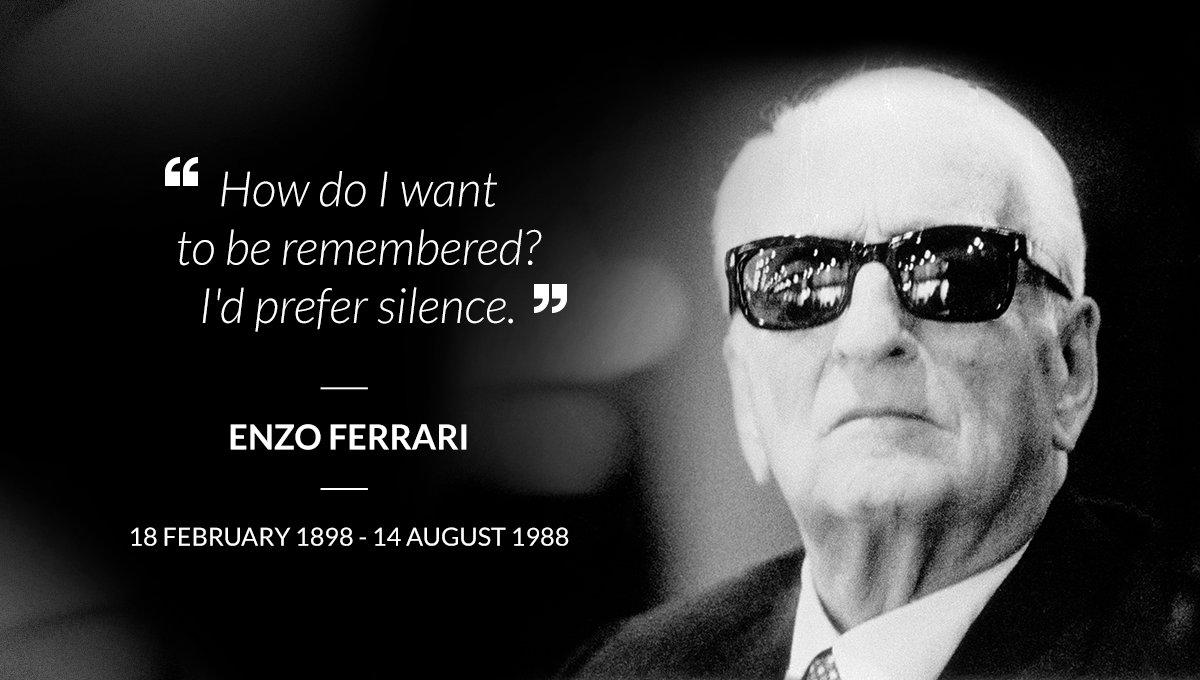 Αποτέλεσμα εικόνας για ferrari enzo born in 1898