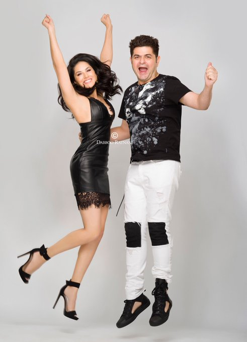 Loved shooting with @DabbooRatnani that we were jumping with joy :) https://t.co/m95o7MVgOK