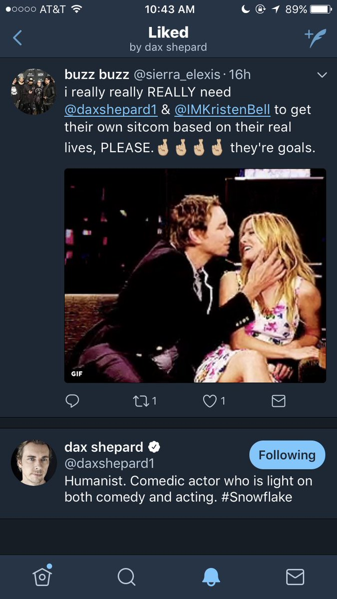 Is dax shepard dating