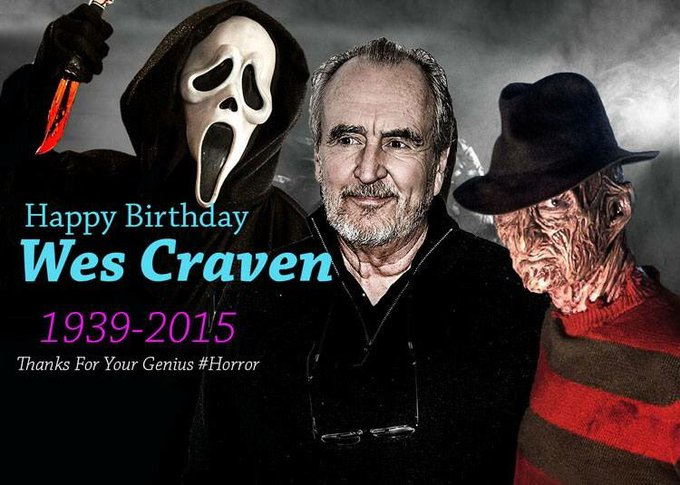 Happy Birthday, Wes Craven!