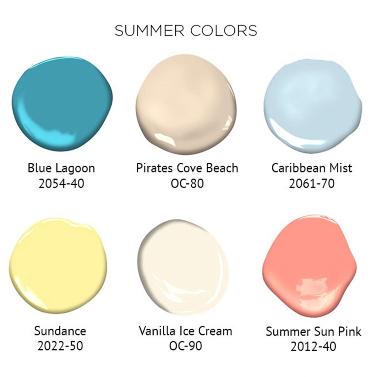 Benjamin Moore On Twitter Extend Summer In Your Home With These Tropical Hues