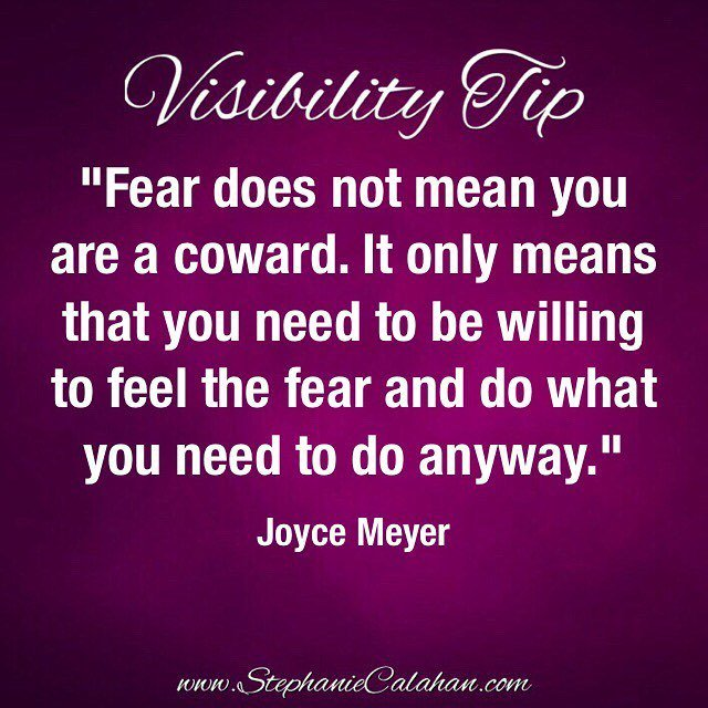Feel the fear, honor it and then move forward anyway. ツ . #visibility #magneticmindset #NoteToSelf  http:// ift.tt/2v31gYx  &nbsp;  <br>http://pic.twitter.com/ARxcXzUrRh