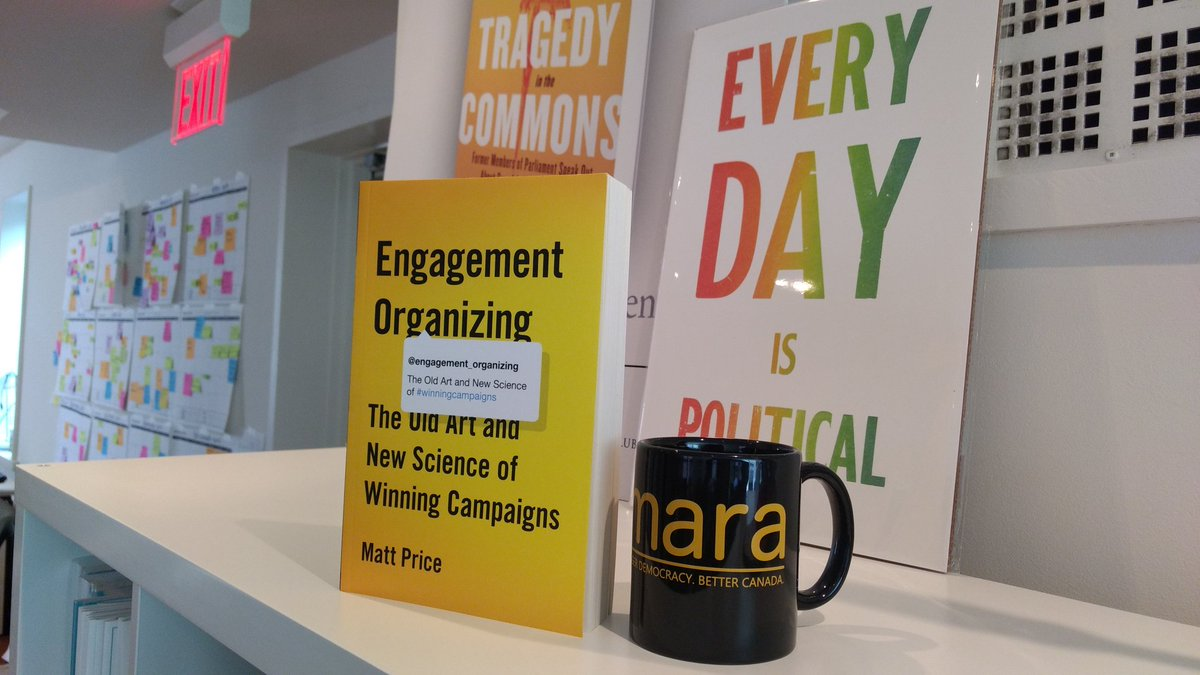 engagement organizing the old art and new science of winning campaigns