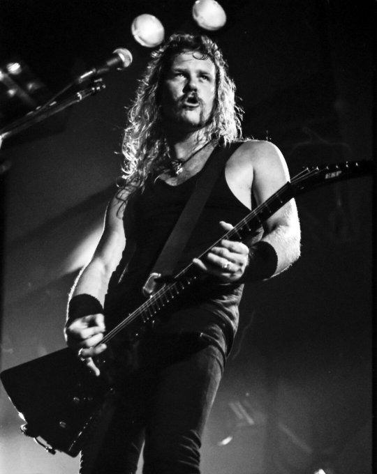 Happy birthday to the fantastic James Hetfield!