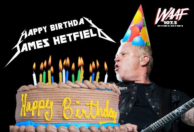 Happy 54th Birthday to James Hetfield of