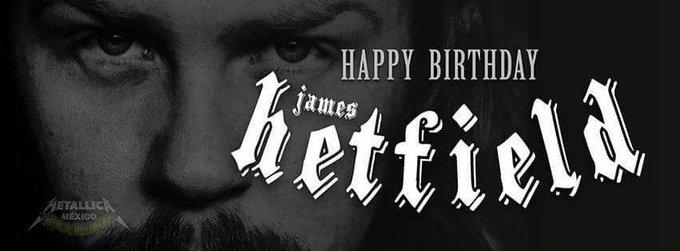 Happy Birthday, James Hetfield!!!