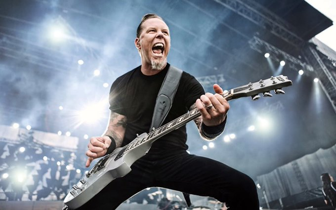 Happy Birthday to the one and only, James Hetfield!!