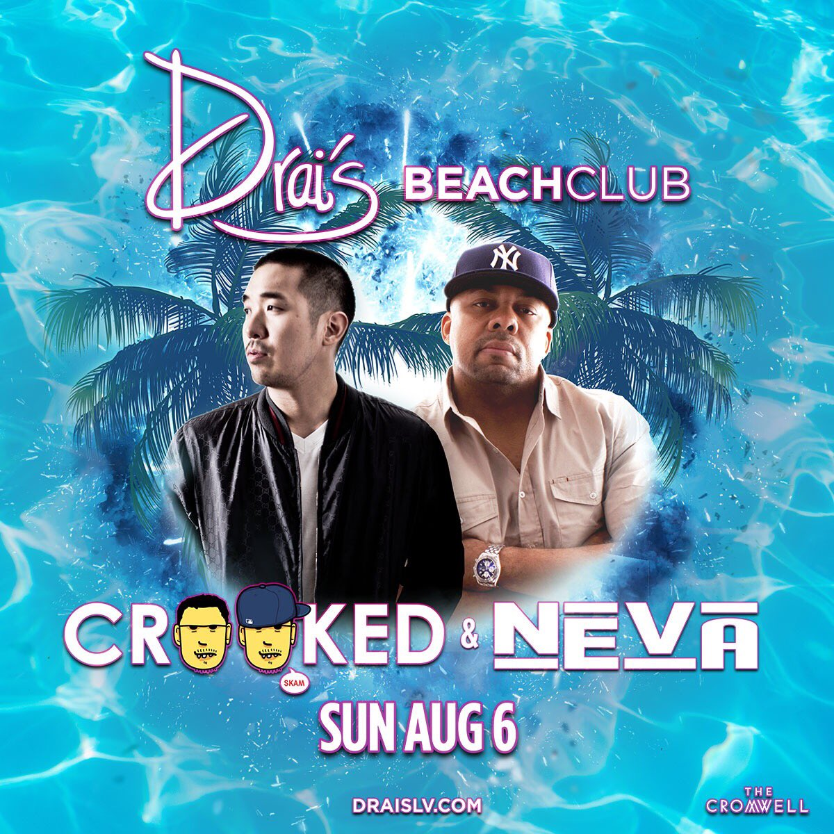 Sunday Pool Party Shenanigans this weekend @DraisBeachclubLV with my brovah @djneva...