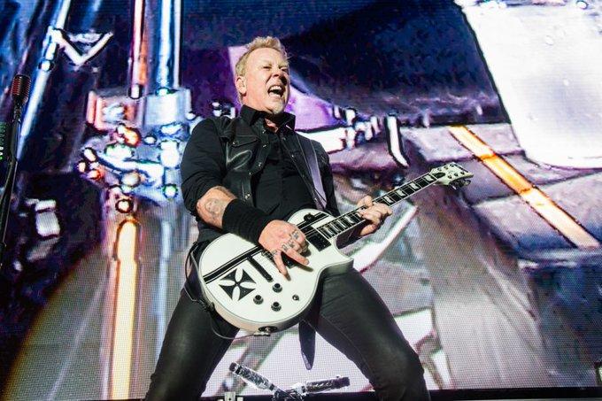 Wishing a happy birthday to very own, James Hetfield!