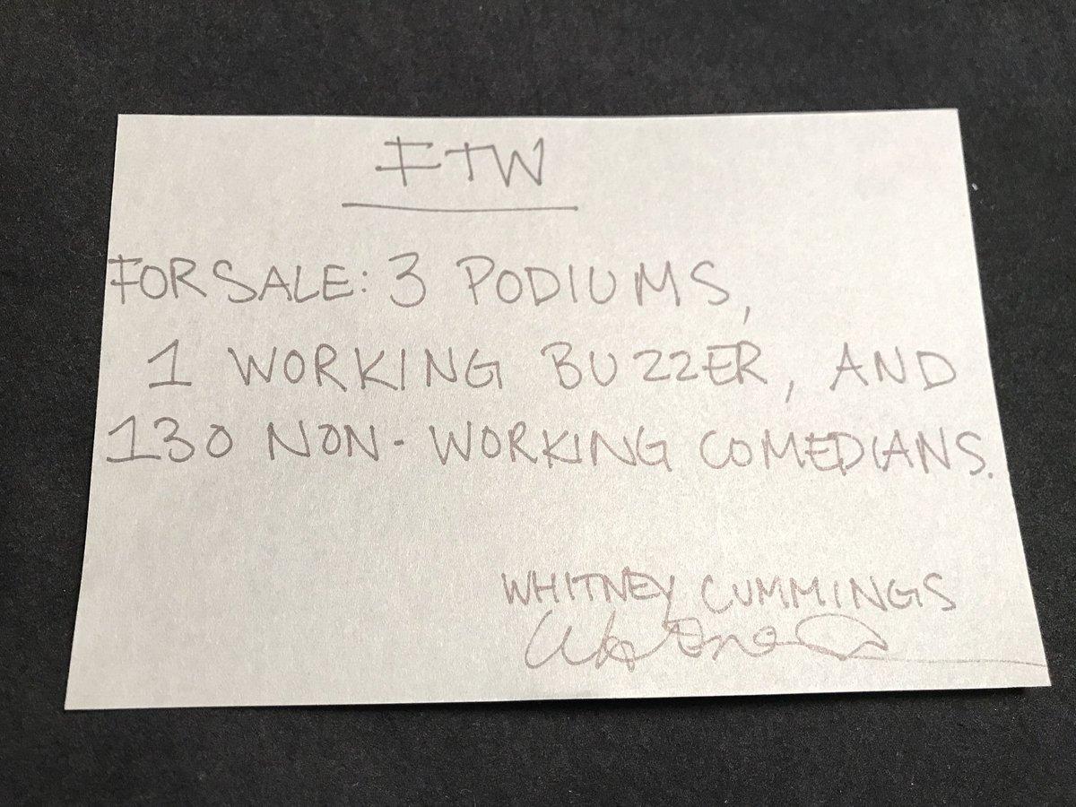 Final FTW entry - Whitney Cummings (@WhitneyCummings) https://t.co/xGc...