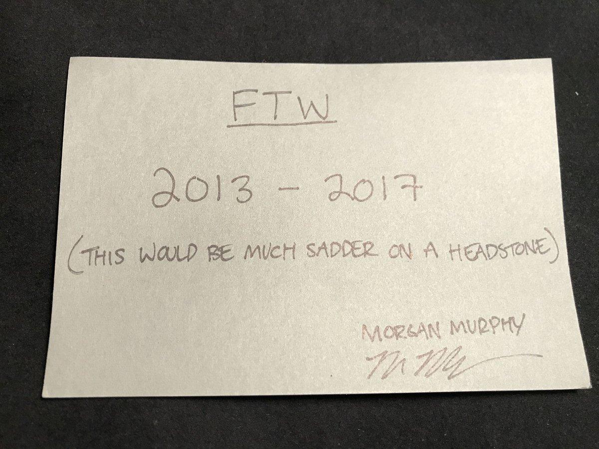 Final FTW entry - Morgan Murphy (@morgan_murphy) https://t.co/Dl2y4Zfa...