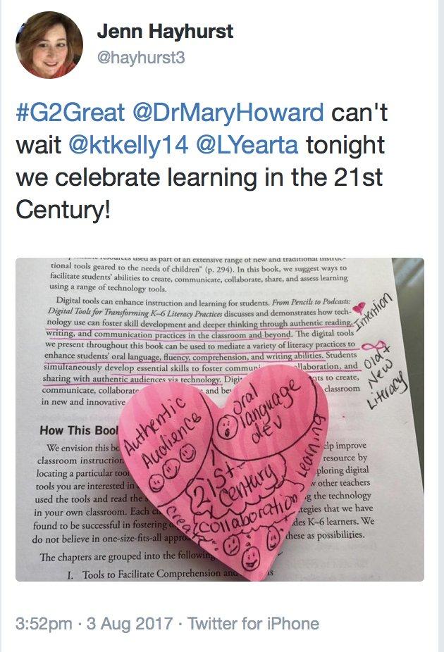 #G2Great pretweet celebration from Jenn @hayhurst3 https://t.co/tRouUsfhfu