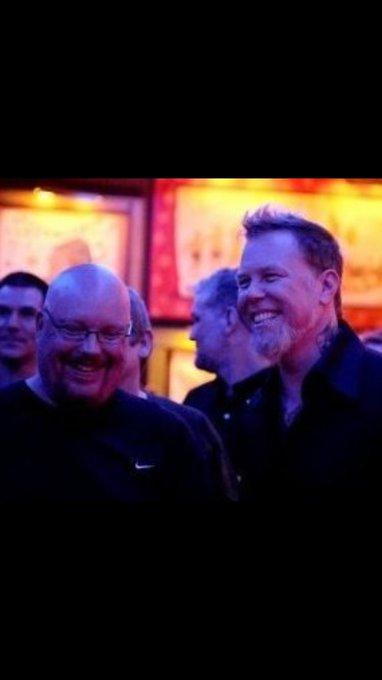 Happy birthday to my good friend James Hetfield!