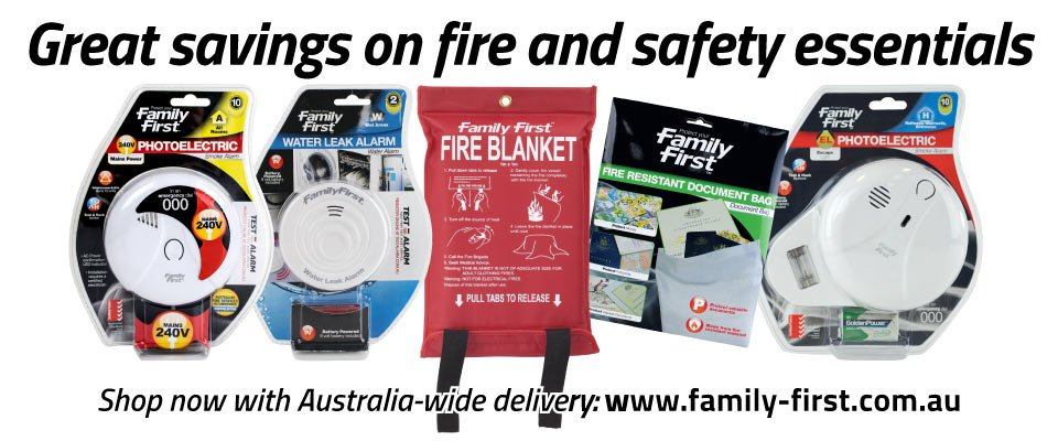 Looking to score great savings on fire and safety essentials inc smoke alarms? Head to @FamilyFirstAUS: https://t.co/AwkbsZdkRu