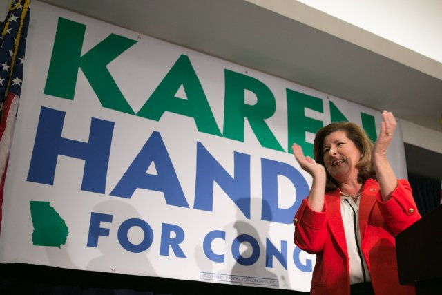 #GA06: Handel warns Democrats are hungry for 'revenge' as Ossoff hints at 6th District comeback bid https://t.co/GwoaDKn4zN