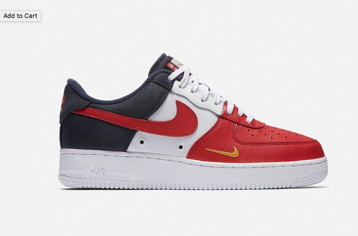 quality design fdf66 39f7a  RESTOCK Nike Air Force 1 Low Tri Color  USA  LINK http   bit.ly 2u9Ahgv  pic.twitter.com 1U9FnFJFEY