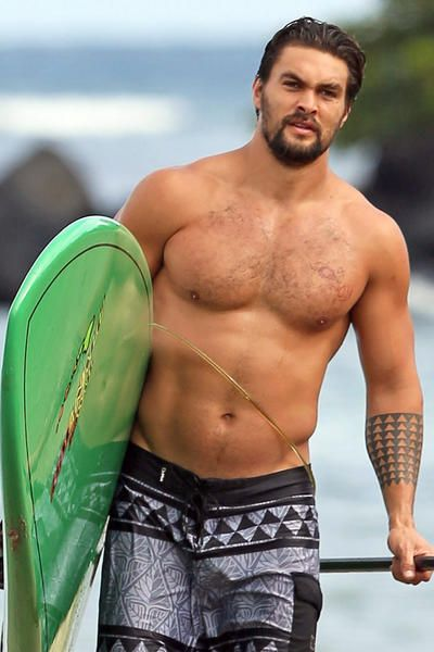We\re two days late, BUT - we crush on this guy hard. Happy Bday Jason Momoa (you gorgeous man).