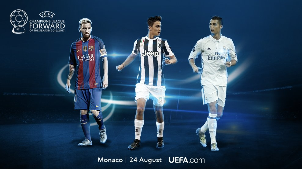 Leo Messi 🇦🇷 Paulo Dybala 🇦🇷 Cristiano Ronaldo 🇵🇹  #UCL
