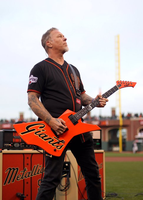 Happy Birthday James Hetfield      We can\t wait to rock with you on Monday.