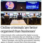 As I have often said, cybercriminals are younger, cleverer, and quicker than the banks. But the banks blame the victims when they can
