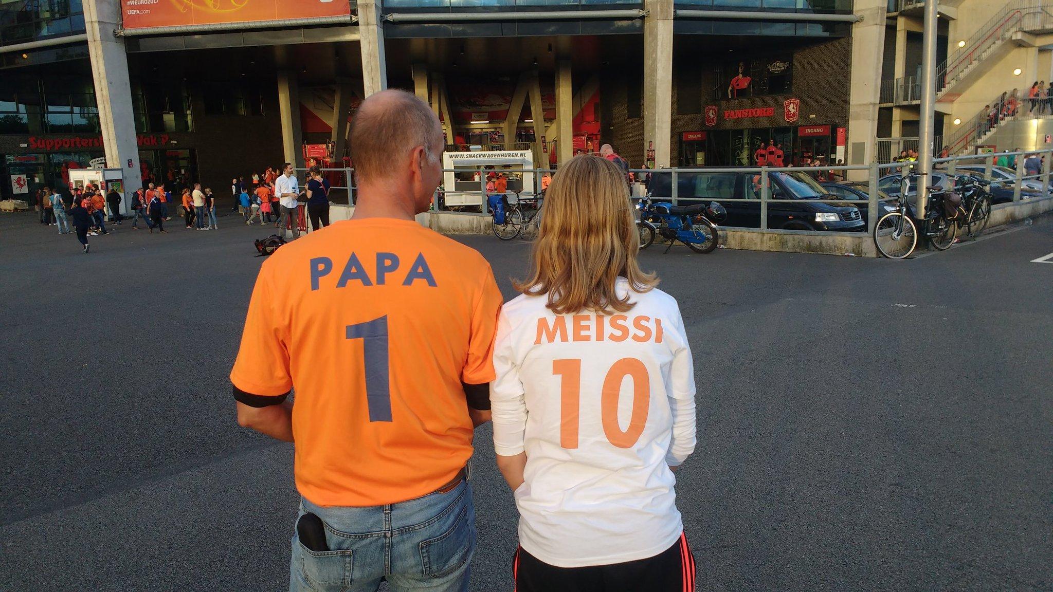 De Nederlandse fans zijn helemaal fantastisch
