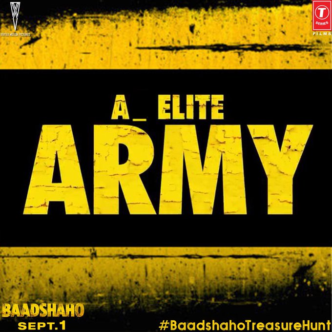 Here's Hint No. 2 Tweet missing character to @Baadshaho to get a step closer to unlock the date & venue! Use #BaadshahoTreasureHunt! https://t.co/6wOeuNCNPQ